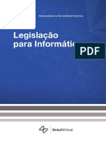 [8200 - 26158]Legislacao Para Informatica