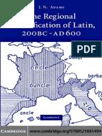 Adams - The Regional Diversification of Latin.pdf