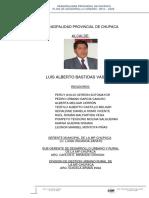3 Propuesta PDU Chupaca