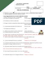 Guía Francica Yo Te Amo I- Respuestas