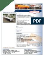 Semirremolque Plataforma Aluminio