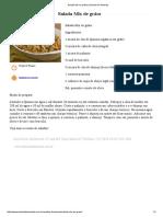 Salada Mix de Grãos _ Daniela de Almeida