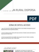Poblacion Rural Dispersa