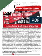 Boletin sindical CGT Octubre