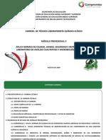 Técnico Laboratorista Quimico Clínico Modulo II