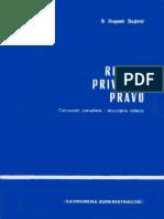 Stojcevic, Dragomir - Rimsko Privatno Pravo
