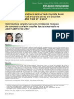 2017BARROS E GIONGO Solicitações Tangenciais Em Elementos Lineares de Concreto Armado- Análise Teórica Baseada Na ABNT NBR 6118-2007