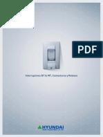 Catálogo Hyundai Industries Baja Tensión