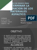 ENSAYO DE PENETRACIÓN, PAVIMENTO.
