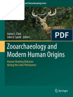 Clark & Speth (Eds.) - Zooarchaeolology and Modern Human Origins; Human Hunting Behavior During the Later Pleistocene (2013)
