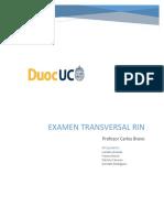 Examen RIN - Informe