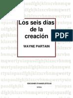 Los Seis Días de La Creación (Wayne Partain)