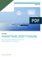 Maritime Software Brochure