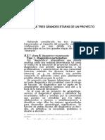 LAS TRES GRANDES ETAPAS DE UN PROYECTO.docx