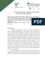 Efeito Do Vigor Sobre a Abundancia de Insetos Indutores de Galhas Em Astronium Fraxinifolium