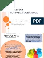 4. Aspectos Sociodemográficos Población Infantil Chile