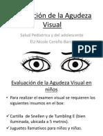 7. Agudeza Visual y Problemas Posturales