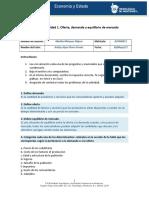 MIII – U2 - Actividad 1. Oferta, Demanda y Equilibrio de Mercado.