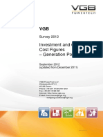 VGB - Investment and Operation Costs Figures for Power Generation_09_2012