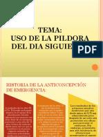 Pildora Del Dia Siguiente - DIAPOSITIVAS