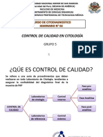 Control de Calidad de Citología