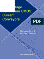 Low Voltage Low Power Cmos Current Conveyors
