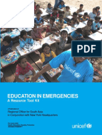 Education in Emergencies Toolkit