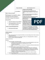 Procedure - Joint Construction 1 (Oreos)