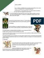 DIOSES AZTECAS, CHIBCHAS E INCAS + MAPAS