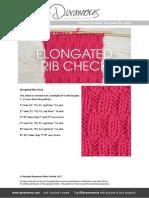 Elongated Rib Check