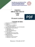 Sílabo Dibujo M II 2017 II