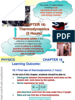 Note Chapter16 Thermodynamics