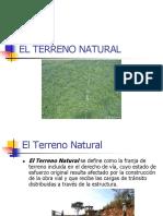 El Terreno Natural.ppt