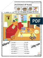 Preposition of Place - In - On - Under - Behind - Beside - House - V.c - 2013