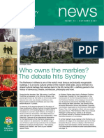 Elgin Marbles Articles