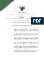 PMK No. 52 Tahun 2016 Tentang Standar Tarif Pelayanan Kesehatan Dalam Penyelenggaraan JKN (1)
