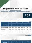 Ministério da Fazenda - Programação Fiscal 2017-2018.pdf