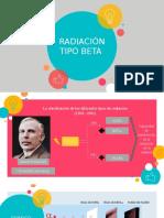 Radiaación Tipo BETA