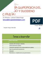Jueves- Patologia Quirúrgica Del Estómago y Duodeno