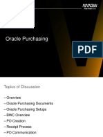 Oracle Purchasing