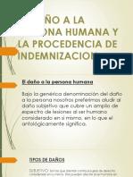 El Daño a La Persona Humana[1]