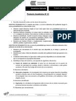 Estadística Aplicada - Producto Académico N 01 ALUMNO