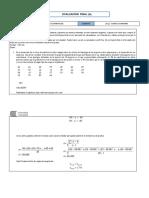 Examen Final a Estadística Inferenciala