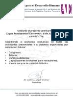 Logos International University - SedeArgentina