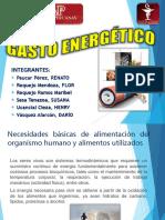 Gasto Energetico- Expo
