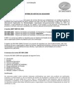 Sistema de Gestao Da Qualidade Iso 9001 14001