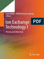 Ionic Exchange Technology I
