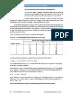 Ejercicio Programacion Dinamica Deterministica