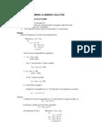 Chapter3 - LP Algebraic Solution