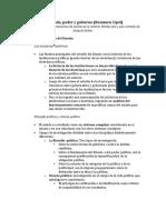 III Estado, Poder y Gobierno (Bobbio) Resumen Cipol